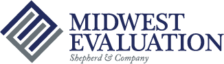 Midwest Evaluations Logo Full Navy